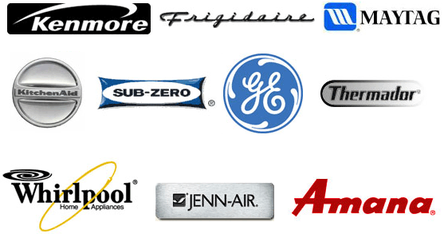 kenmore, frigidaire, maytag, kitchen aid, sub zero, GE, Thermador, Whirlpool, Jenn-Aie, Amana repair in Parker, CO.